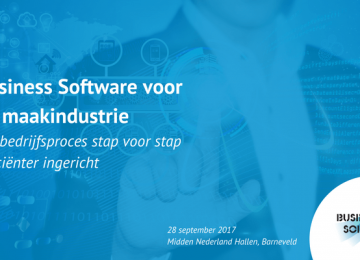Business Software Event 2017 thema